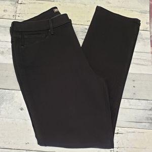 Levi's Black Mid Rise Skinny Jeans